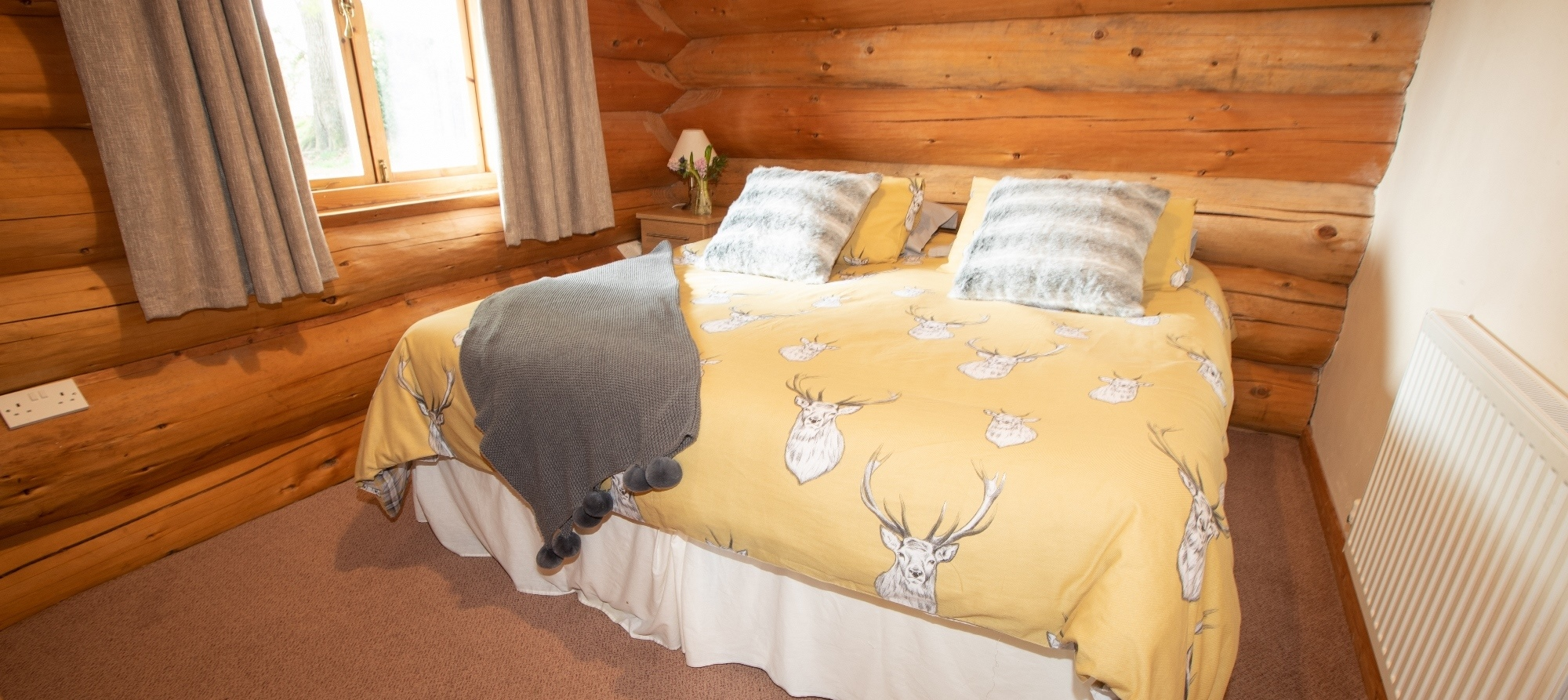 Spring Heath Log Cabin Double Room