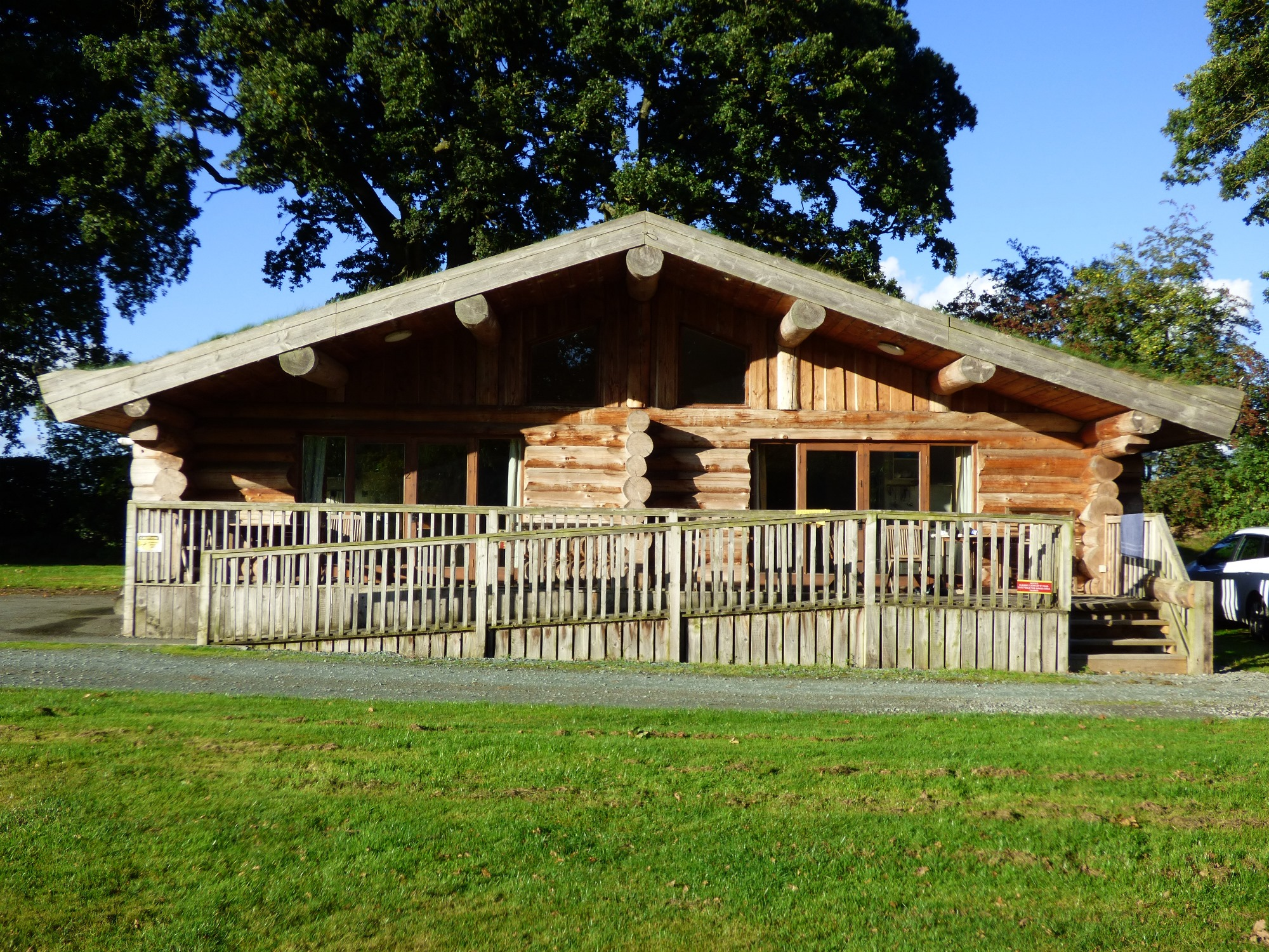 Log Cabin Front View